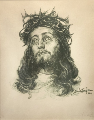 Márton Ferenc(1884-1940):  Head of Christ