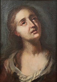 19 th century first half Italian painter: Painful Mary